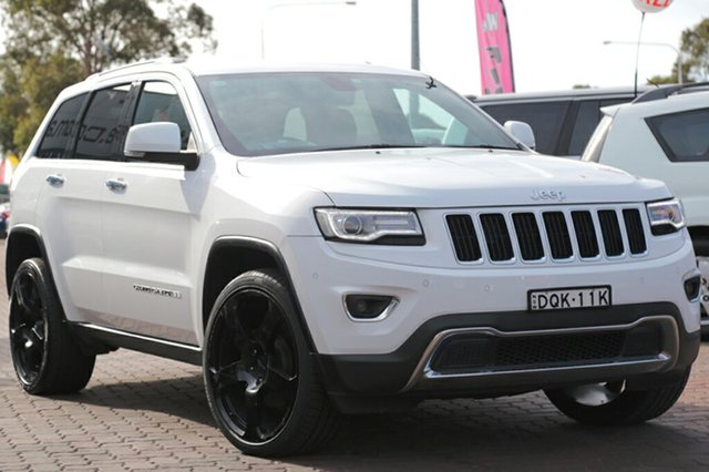 Used Jeep Grand Cherokee Limited, Narellan, 2013 Jeep Grand Cherokee Limited SUV