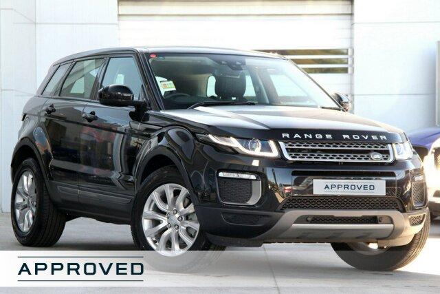 Demonstrator, Demo, Near New Land Rover Range Rover Evoque TD4 150 SE, Gardenvale, 2017 Land Rover Range Rover Evoque TD4 150 SE Wagon