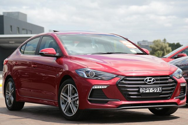 Demonstrator, Demo, Near New Hyundai Elantra SR DCT Turbo, Southport, 2017 Hyundai Elantra SR DCT Turbo Sedan