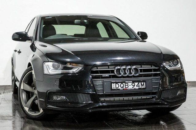 Used Audi A4 S tronic quattro, Rozelle, 2013 Audi A4 S tronic quattro Sedan