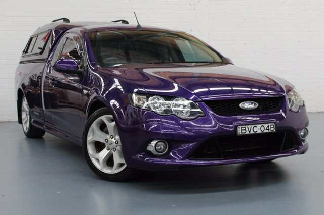 Used Ford Falcon XR6 Ute Super Cab, Rutherford, 2010 Ford Falcon XR6 Ute Super Cab Utility