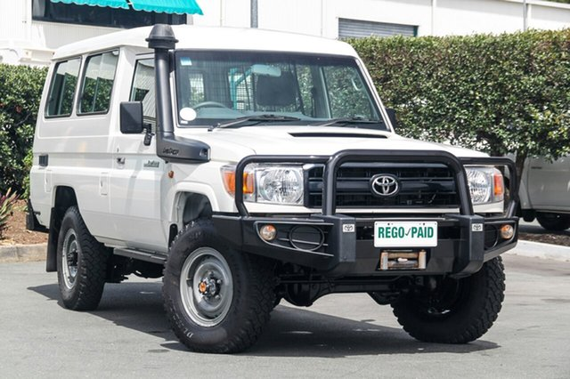 Used Toyota Landcruiser Workmate Troopcarrier, Acacia Ridge, 2014 Toyota Landcruiser Workmate Troopcarrier VDJ78R Wagon
