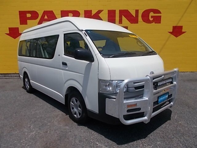 Used Toyota Hiace Commuter High Roof Super LWB, Winnellie, 2008 Toyota Hiace Commuter High Roof Super LWB Bus