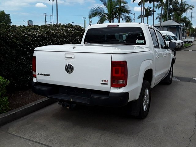 Used Volkswagen Amarok TDI420 4Motion Perm Trendline, Acacia Ridge, 2014 Volkswagen Amarok TDI420 4Motion Perm Trendline 2H MY14 Utility
