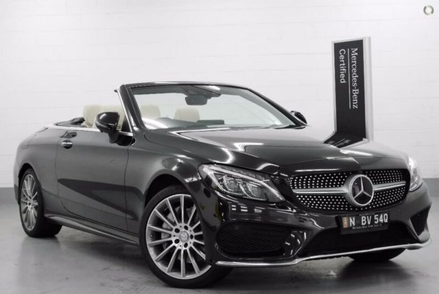 Demonstrator, Demo, Near New Mercedes-Benz C300 9G-TRONIC, Southport, 2016 Mercedes-Benz C300 9G-TRONIC Cabriolet