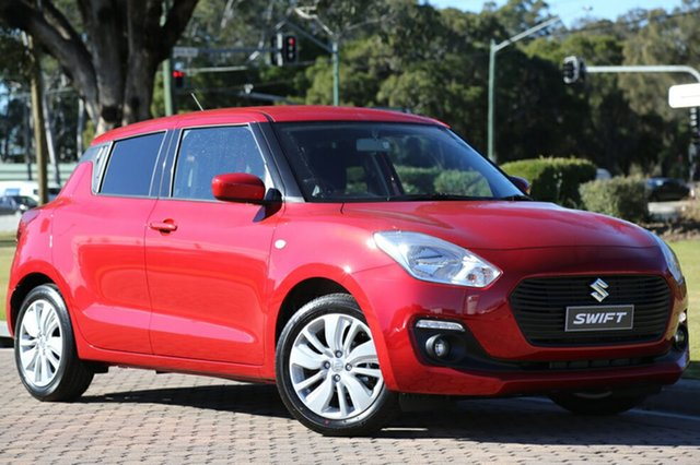 Discounted Demonstrator, Demo, Near New Suzuki Swift GL Navigator, Warwick Farm, 2017 Suzuki Swift GL Navigator Hatchback