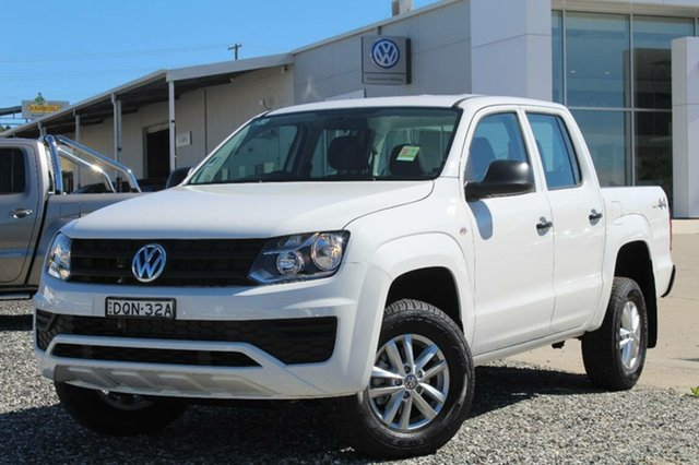 Demonstrator, Demo, Near New Volkswagen Amarok TDI420 Core Edition (4x4), Bathurst, 2017 Volkswagen Amarok TDI420 Core Edition (4x4) Dual Cab Utility