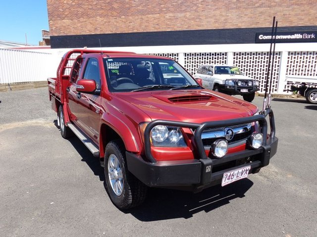 Discounted Used Holden Colorado LX (4x4), 2009 Holden Colorado LX (4x4) Crew C/Chas