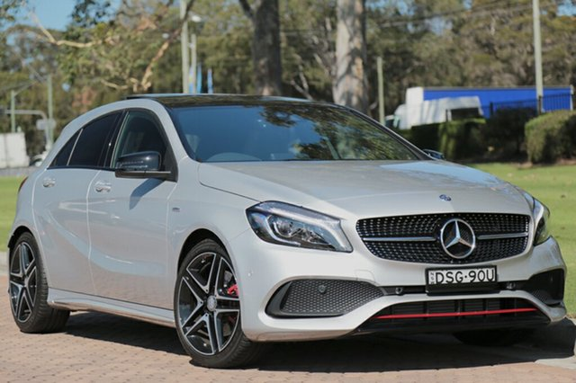 Discounted Used Mercedes-Benz A250 Sport D-CT 4MATIC, Warwick Farm, 2017 Mercedes-Benz A250 Sport D-CT 4MATIC Hatchback