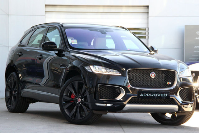 Used Jaguar F-PACE 30d AWD First Edition, Gardenvale, 2017 Jaguar F-PACE 30d AWD First Edition Wagon