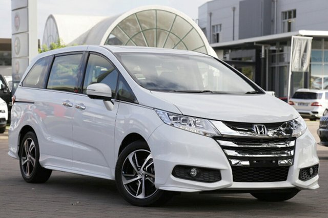 Discounted Demonstrator, Demo, Near New Honda Odyssey VTi-L, Southport, 2017 Honda Odyssey VTi-L Wagon