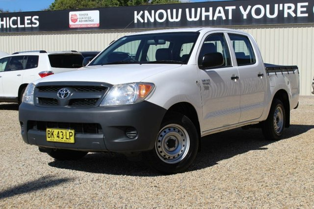 Used Toyota Hilux Workmate, Bathurst, 2008 Toyota Hilux Workmate Dual Cab Pick-up