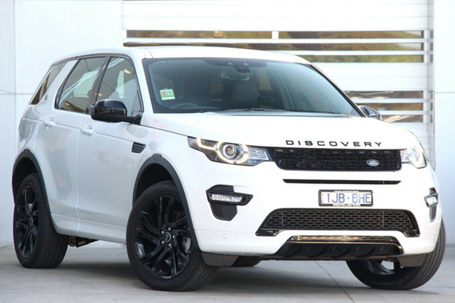 Discounted Demonstrator, Demo, Near New Land Rover Discovery Sport TD4 180 HSE Luxury 5 Seat, Gardenvale, 2017 Land Rover Discovery Sport TD4 180 HSE Luxury 5 Seat Wagon