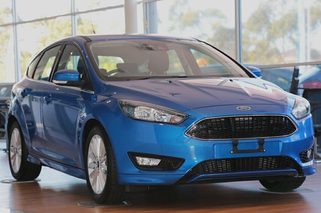 Discounted Demonstrator, Demo, Near New Ford Focus Sport, Narellan, 2017 Ford Focus Sport Hatchback