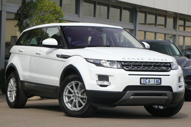Used Land Rover Range Rover Evoque TD4 Pure, Port Melbourne, 2014 Land Rover Range Rover Evoque TD4 Pure Wagon