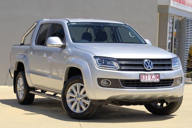 Used Volkswagen Amarok TDI420 4Motion Perm Highline, Moorooka, Brisbane, 2015 Volkswagen Amarok TDI420 4Motion Perm Highline Utility