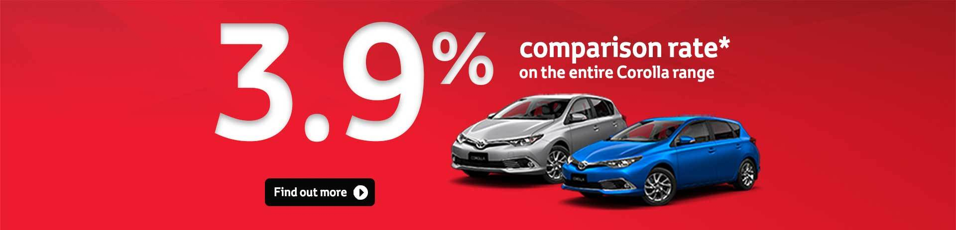 Corolla Special Offers
