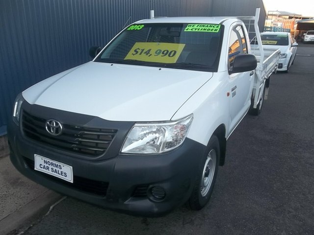 Used Toyota Hilux Workmate, North Rockhampton, 2013 Toyota Hilux Workmate Utility