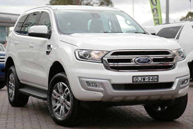 Used Ford Everest Trend RWD, Narellan, 2016 Ford Everest Trend RWD SUV
