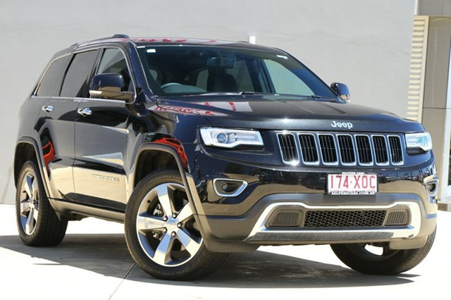 Used Jeep Grand Cherokee Limited, Moorooka, Brisbane, 2016 Jeep Grand Cherokee Limited Wagon