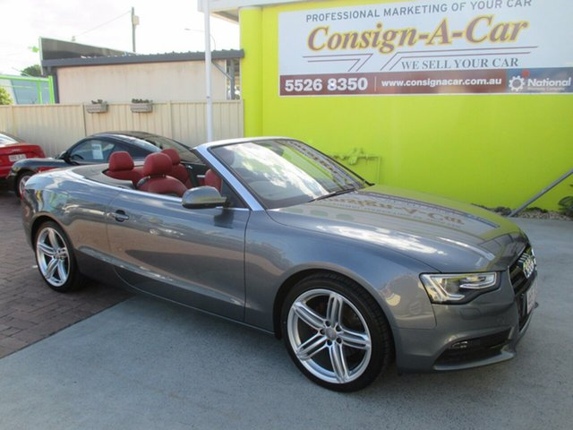 Used Audi A5 Multitronic, Bundall, 2012 Audi A5 Multitronic 8T MY13 Cabriolet