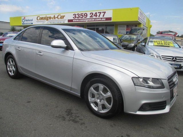 Used Audi A4 Multitronic, Kedron, 2008 Audi A4 Multitronic B8 8K Sedan
