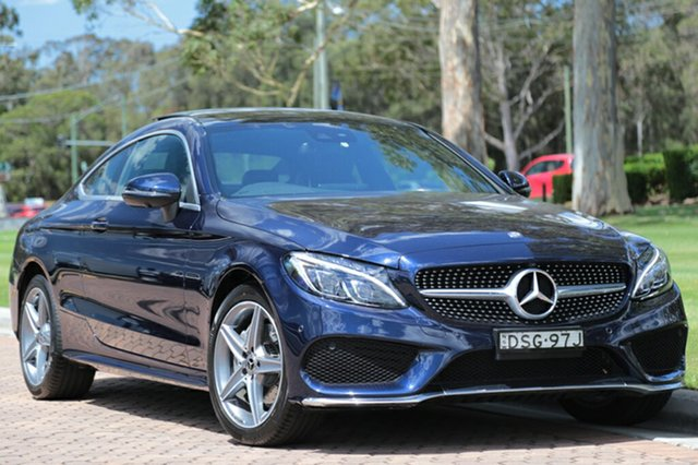 Discounted Used Mercedes-Benz C200 9G-TRONIC, Warwick Farm, 2017 Mercedes-Benz C200 9G-TRONIC Coupe