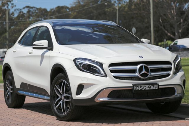 Discounted Used Mercedes-Benz GLA180 DCT, Warwick Farm, 2016 Mercedes-Benz GLA180 DCT SUV