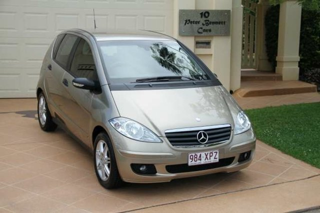 Discounted Used Mercedes-Benz A170 Classic, Bundall, 2006 Mercedes-Benz A170 Classic W169 Hatchback