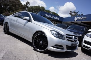 2013 Mercedes-Benz C250 CDI 7G-Tronic Coupe.