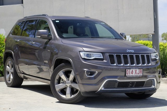Used Jeep Grand Cherokee Overland, Moorooka, Brisbane, 2015 Jeep Grand Cherokee Overland Wagon