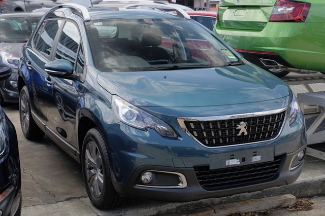 Demonstrator, Demo, Near New Peugeot 2008 Active, Bowen Hills, 2018 Peugeot 2008 Active Wagon