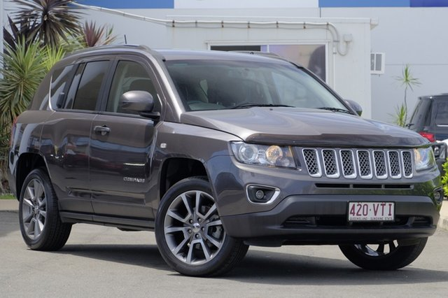 Used Jeep Compass Limited CVT Auto Stick, Bowen Hills, 2015 Jeep Compass Limited CVT Auto Stick Wagon