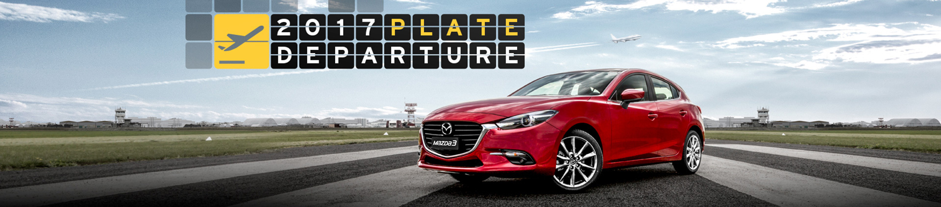 Mazda - National Offer - 2017 Plate Departure Sale