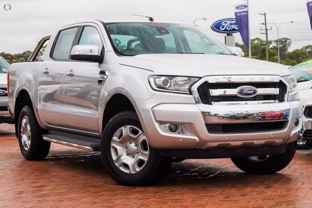 Demonstrator, Demo, Near New Ford Ranger XLT Double Cab, Warwick Farm, 2017 Ford Ranger XLT Double Cab Utility