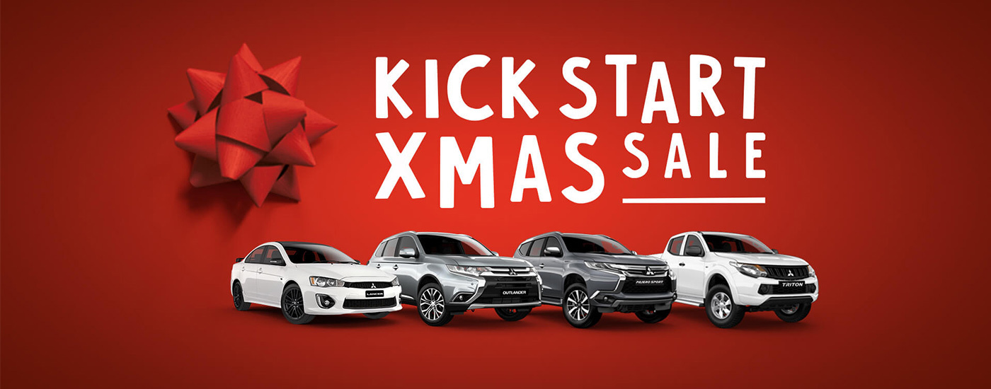 Mitsubishi - National Offer - Kick Start Xmas Sale