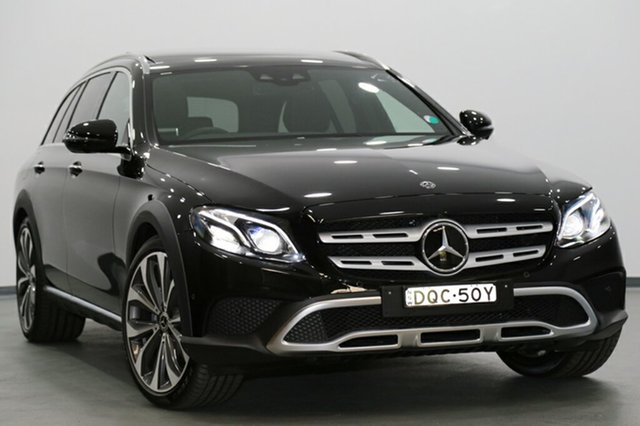 Demonstrator, Demo, Near New Mercedes-Benz E220 d All-Terrain 9G-TRONIC PLUS 4MATIC, Narellan, 2017 Mercedes-Benz E220 d All-Terrain 9G-TRONIC PLUS 4MATIC Wagon