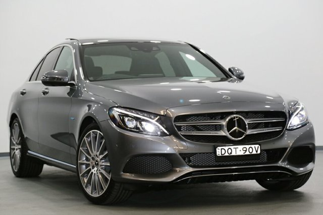 Demonstrator, Demo, Near New Mercedes-Benz C350 e 7G-TRONIC +, Narellan, 2017 Mercedes-Benz C350 e 7G-TRONIC + Sedan