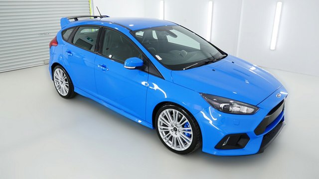 Demonstrator, Demo, Near New Ford Focus RS AWD, Coffs Harbour, 2017 Ford Focus RS AWD Hatchback
