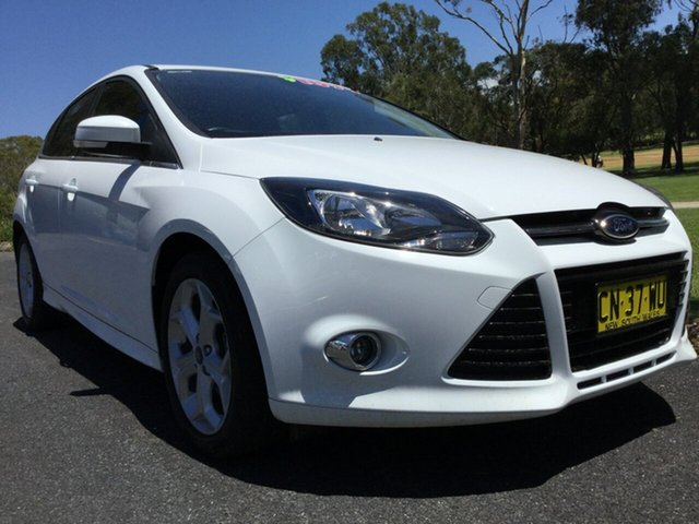 Used Ford Focus Sport PwrShift, Coffs Harbour, 2014 Ford Focus Sport PwrShift Hatchback