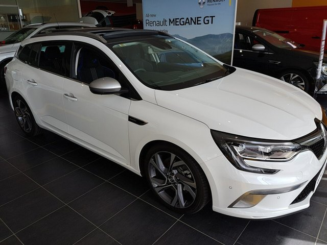 Discounted Demonstrator, Demo, Near New Renault Megane GT EDC, Warwick Farm, 2017 Renault Megane GT EDC Wagon