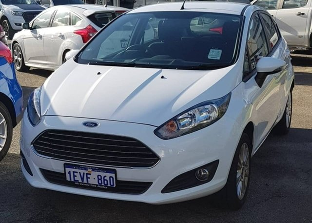 Demonstrator, Demo, Near New Ford Fiesta Trend PwrShift, Morley, 2015 Ford Fiesta Trend PwrShift Hatchback