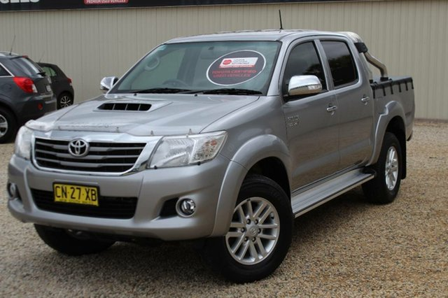 Used Toyota Hilux SR5 (4x4), Bathurst, 2015 Toyota Hilux SR5 (4x4) Dual Cab Pick-up