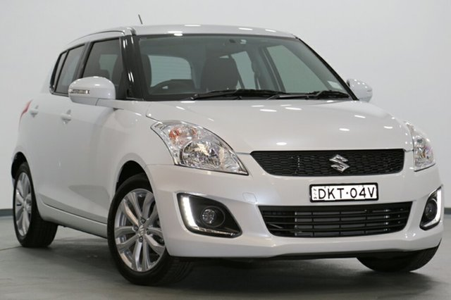 Used Suzuki Swift GL Navigator, Narellan, 2015 Suzuki Swift GL Navigator Hatchback