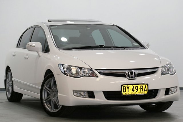 Used Honda Civic Sport, Narellan, 2008 Honda Civic Sport Sedan