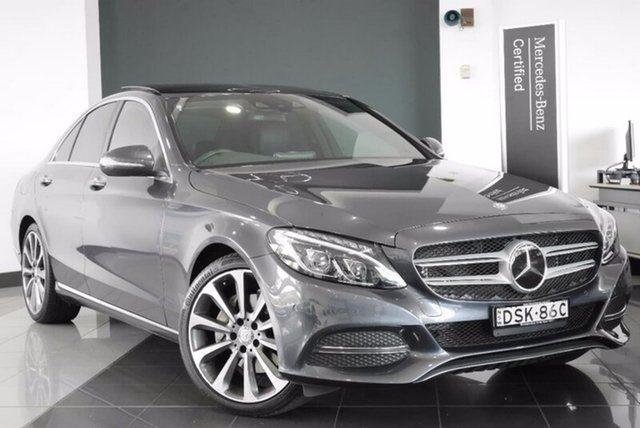 Demonstrator, Demo, Near New Mercedes-Benz C250 7G-Tronic +, Mosman, 2014 Mercedes-Benz C250 7G-Tronic + Sedan