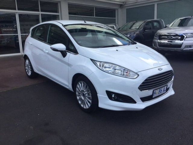 Demonstrator, Demo, Near New Ford Fiesta Sport PwrShift, Hobart, 2016 Ford Fiesta Sport PwrShift Hatchback