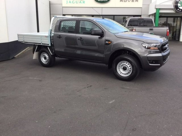 Demonstrator, Demo, Near New Ford Ranger XL Double Cab, Hobart, 2017 Ford Ranger XL Double Cab Cab Chassis