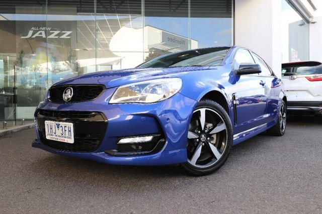 Used Holden Commodore SV6 Black, Hoppers Crossing, 2016 Holden Commodore SV6 Black Sedan