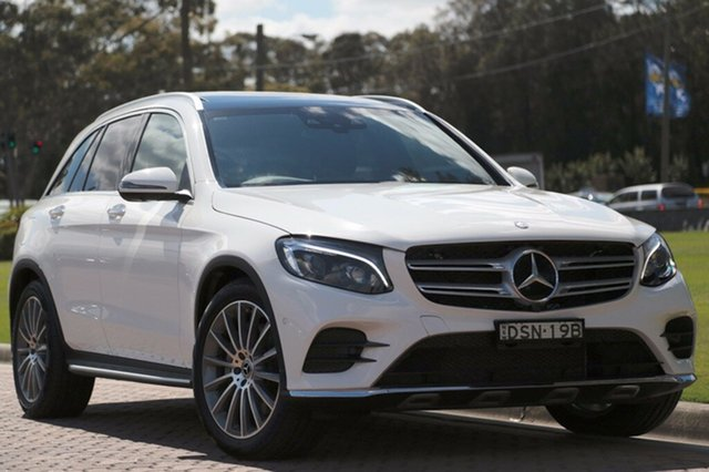Discounted Used Mercedes-Benz GLC250 9G-TRONIC 4MATIC, Warwick Farm, 2017 Mercedes-Benz GLC250 9G-TRONIC 4MATIC SUV